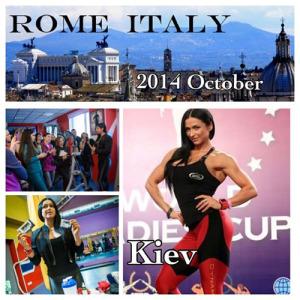 В конце октября-начале ноября Саша Браун проведет семинары в Риме, Париже и Киеве