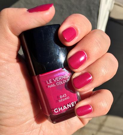 Chanel Desirio 643 - красивый лак