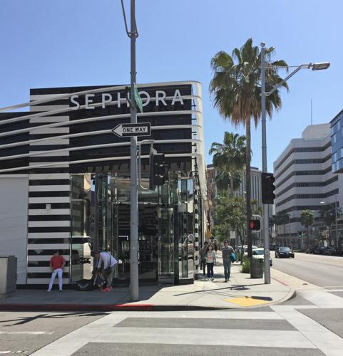 косметический шопинг в Лос Анджелесе